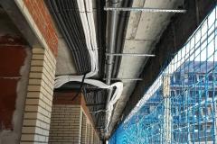 Pasillo acceso viviendas planta 1ª - Venta pisos de obra nueva en Móstoles
