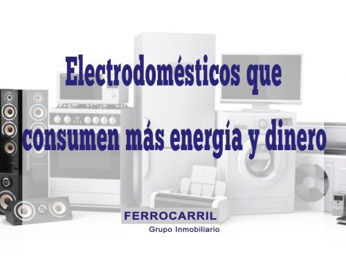Los electrodomésticos que más energía y dinero consumen