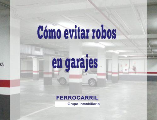 Cómo evitar robos de vehículos en garajes